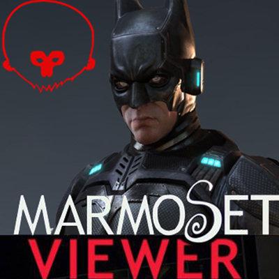 Marmoset Viewer Batman Comicon Challenge 2014