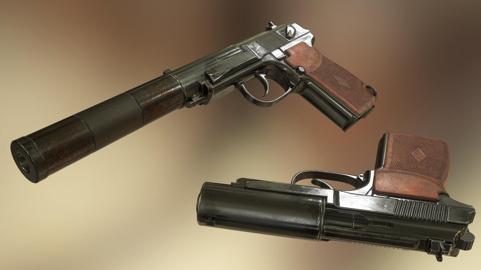 Asset - PB6P9 Pistol