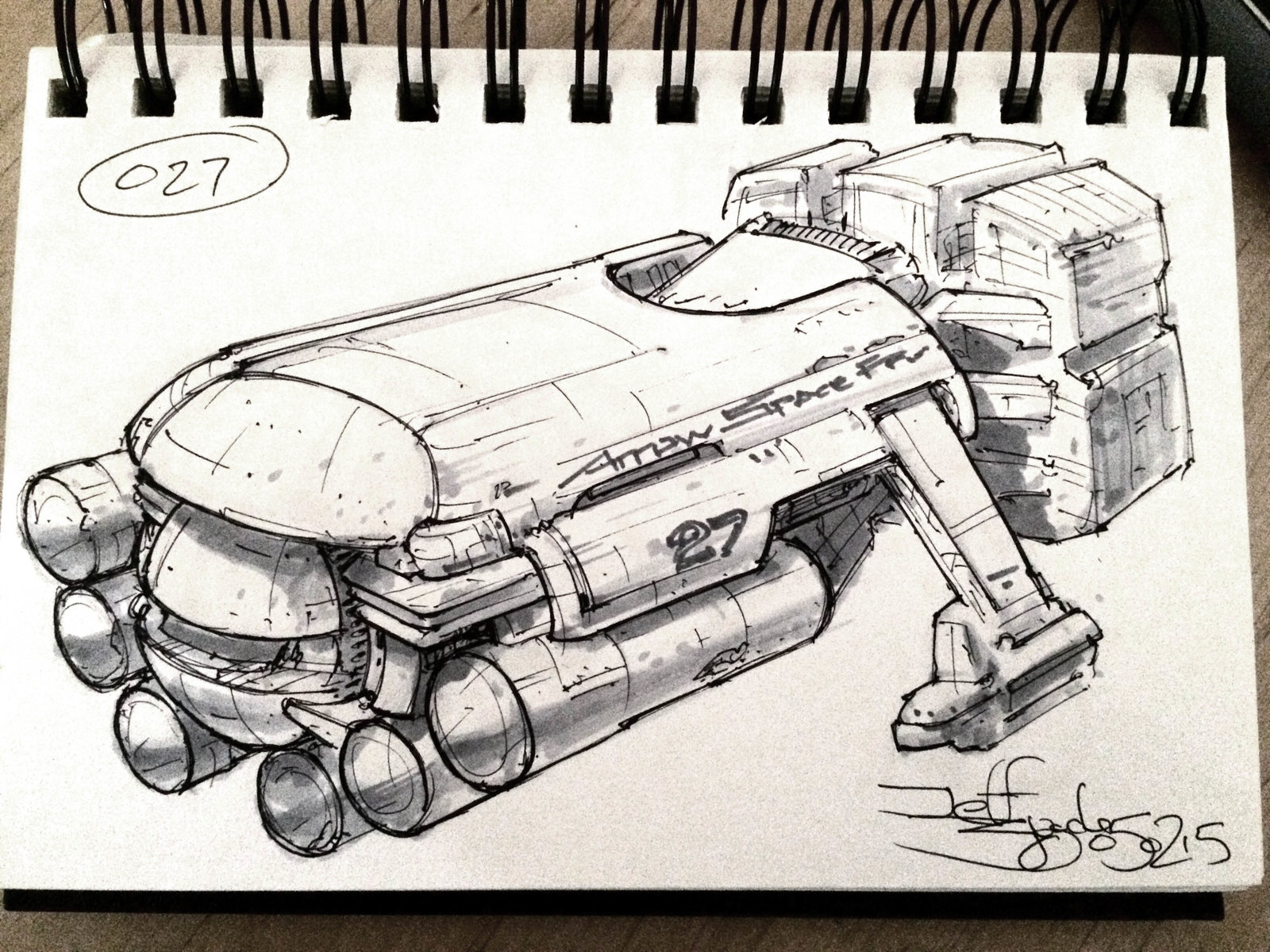 SpaceshipADay 027