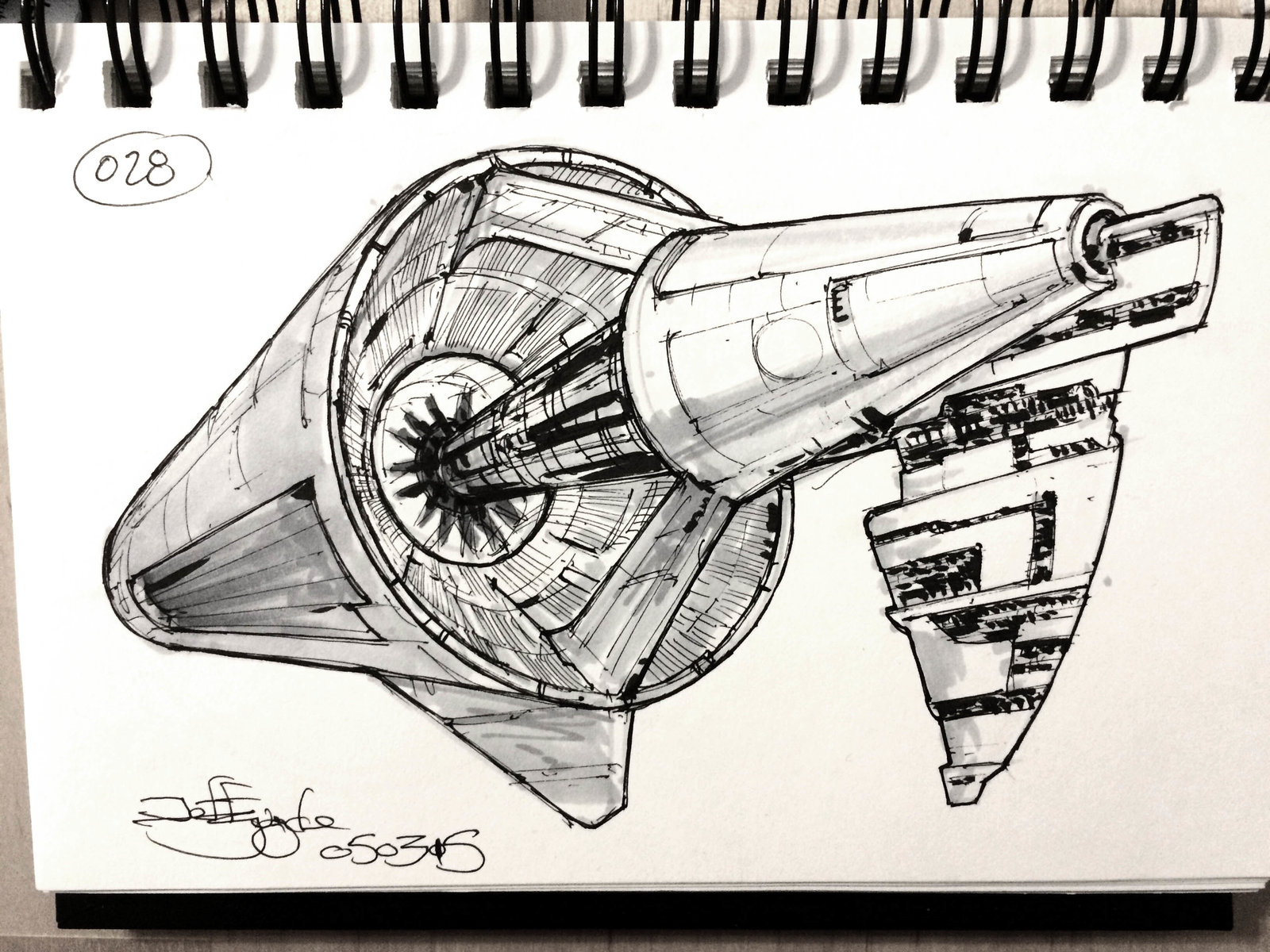 SpaceshipADay 028