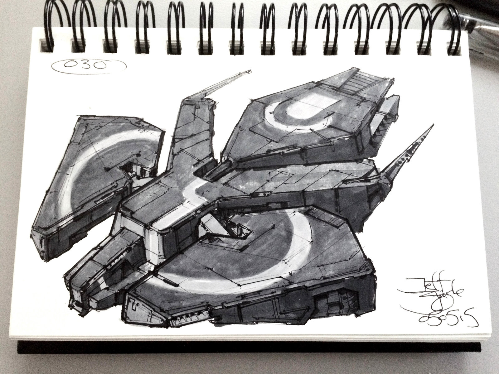 SpaceshipADay 030