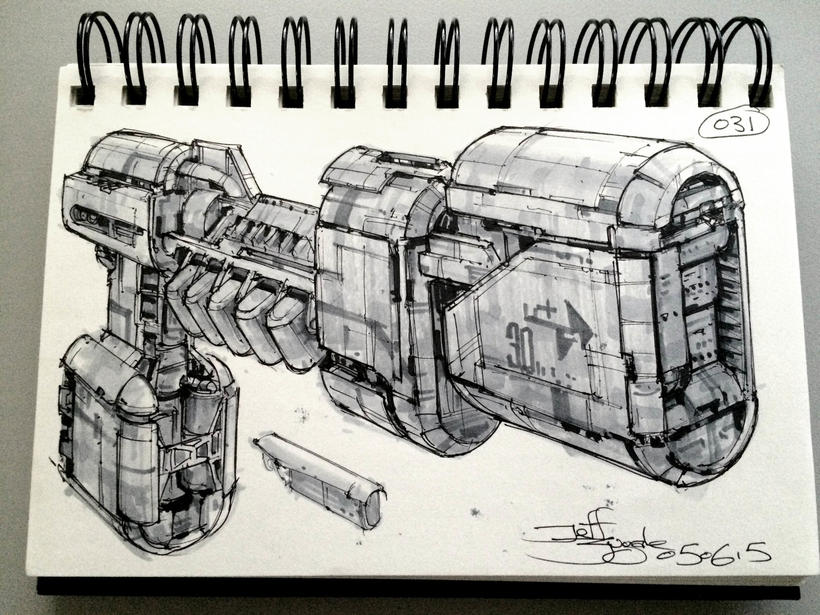SpaceshipADay 031