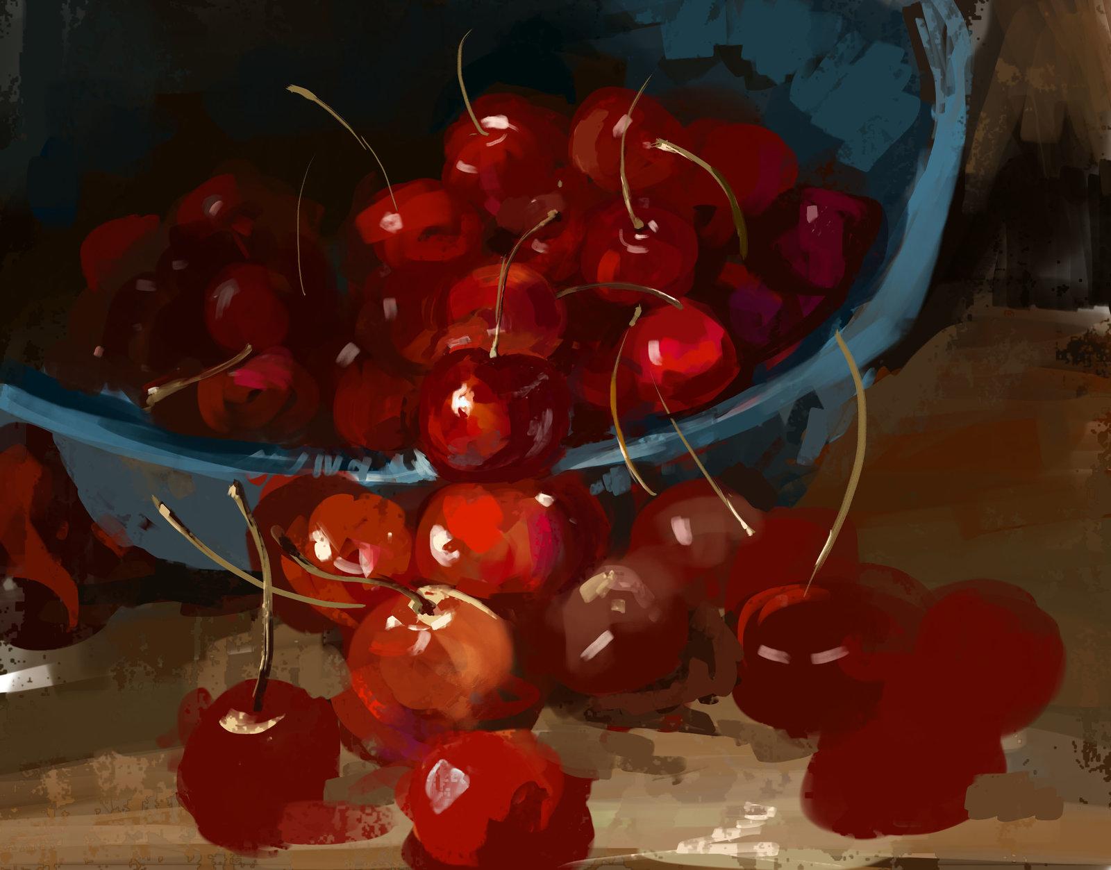 LunchTimeStudy_Cherries