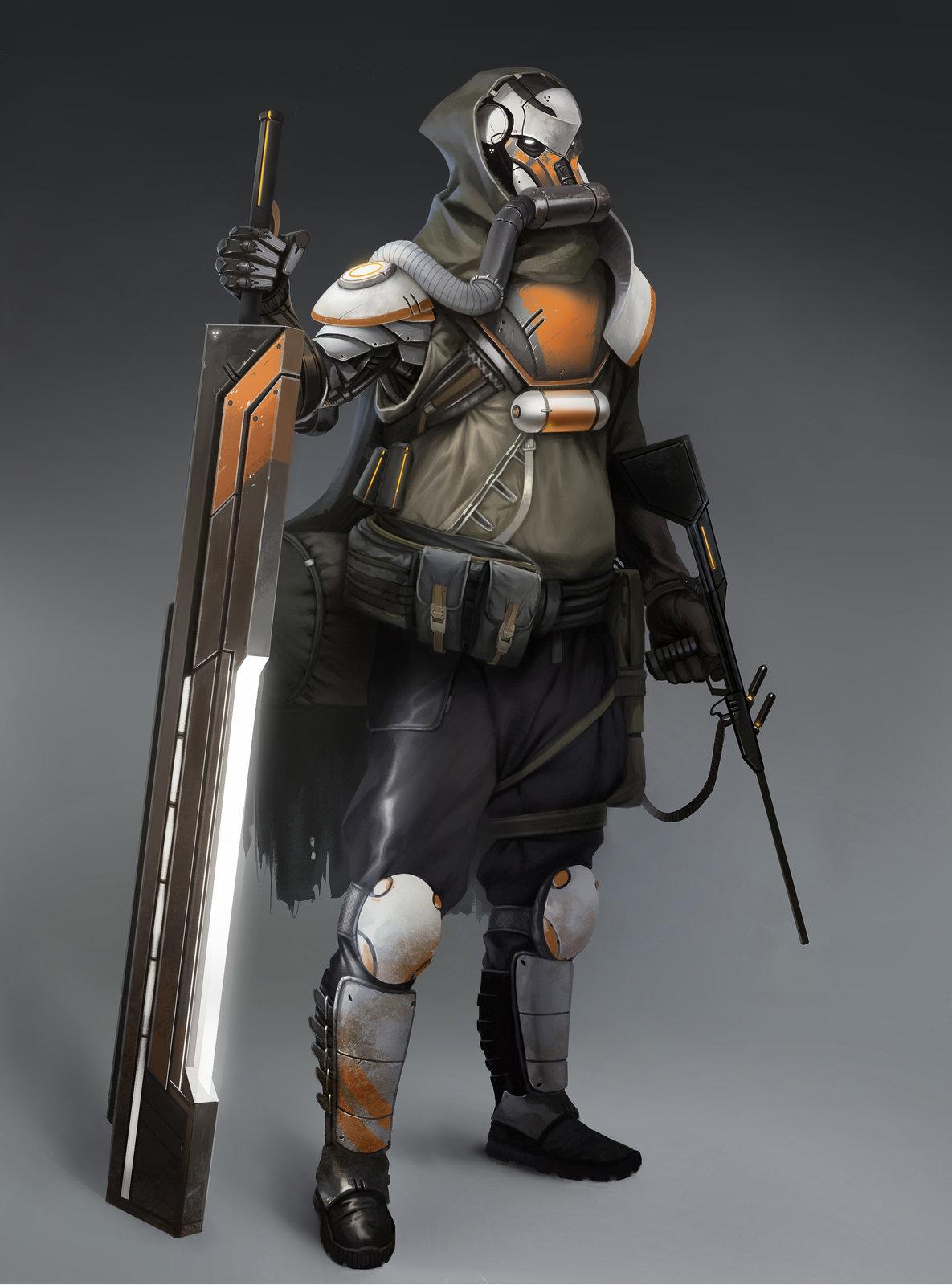 Desert Samuraï