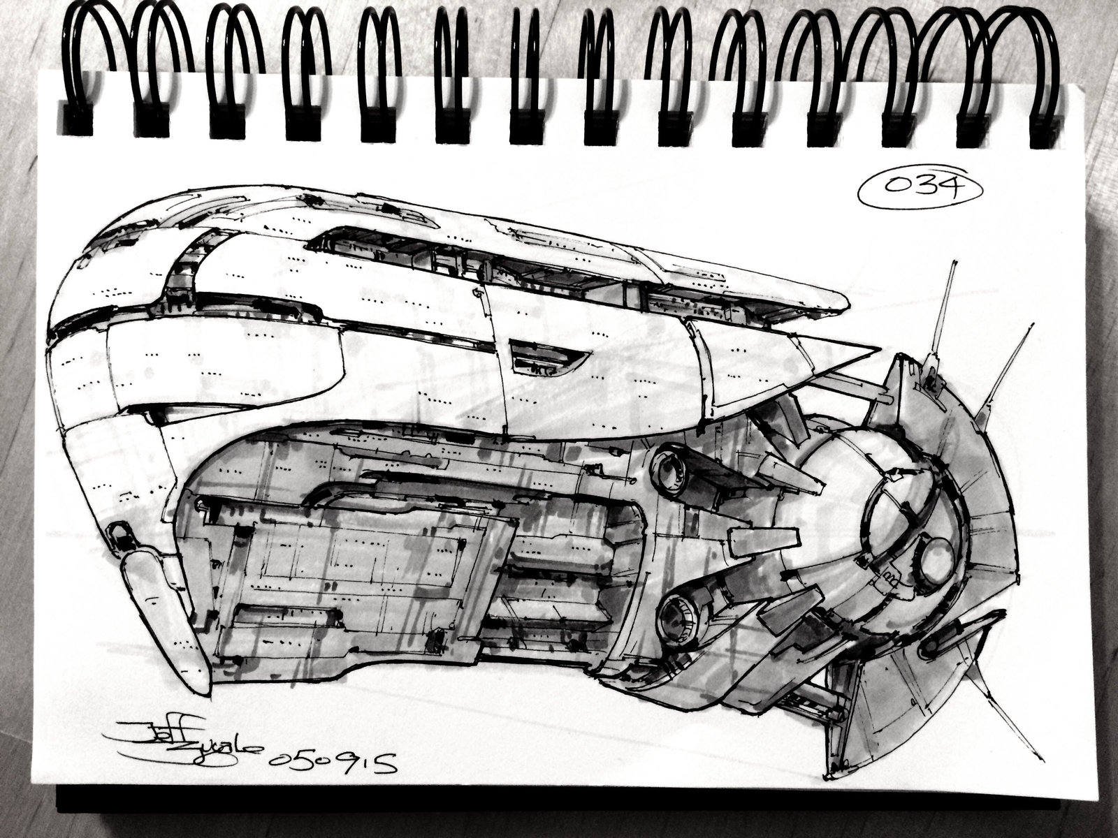 SpaceshipADay 034