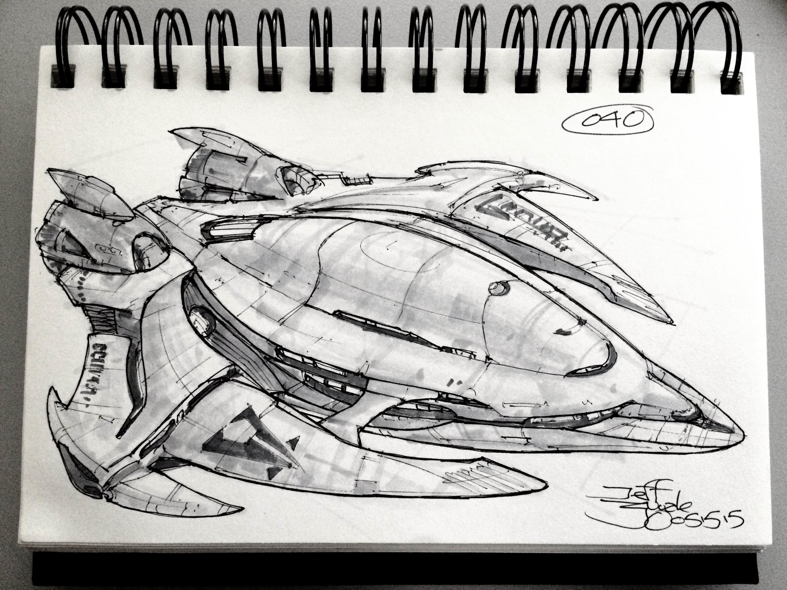 SpaceshipADay 040