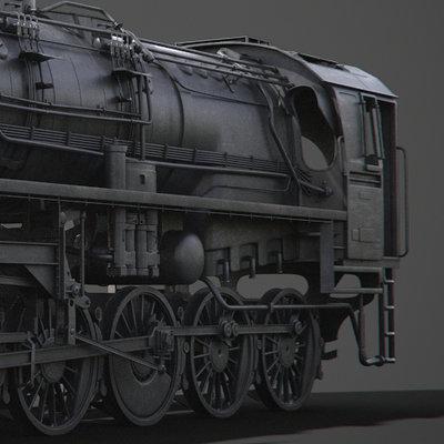 Adrien lambert locomotive