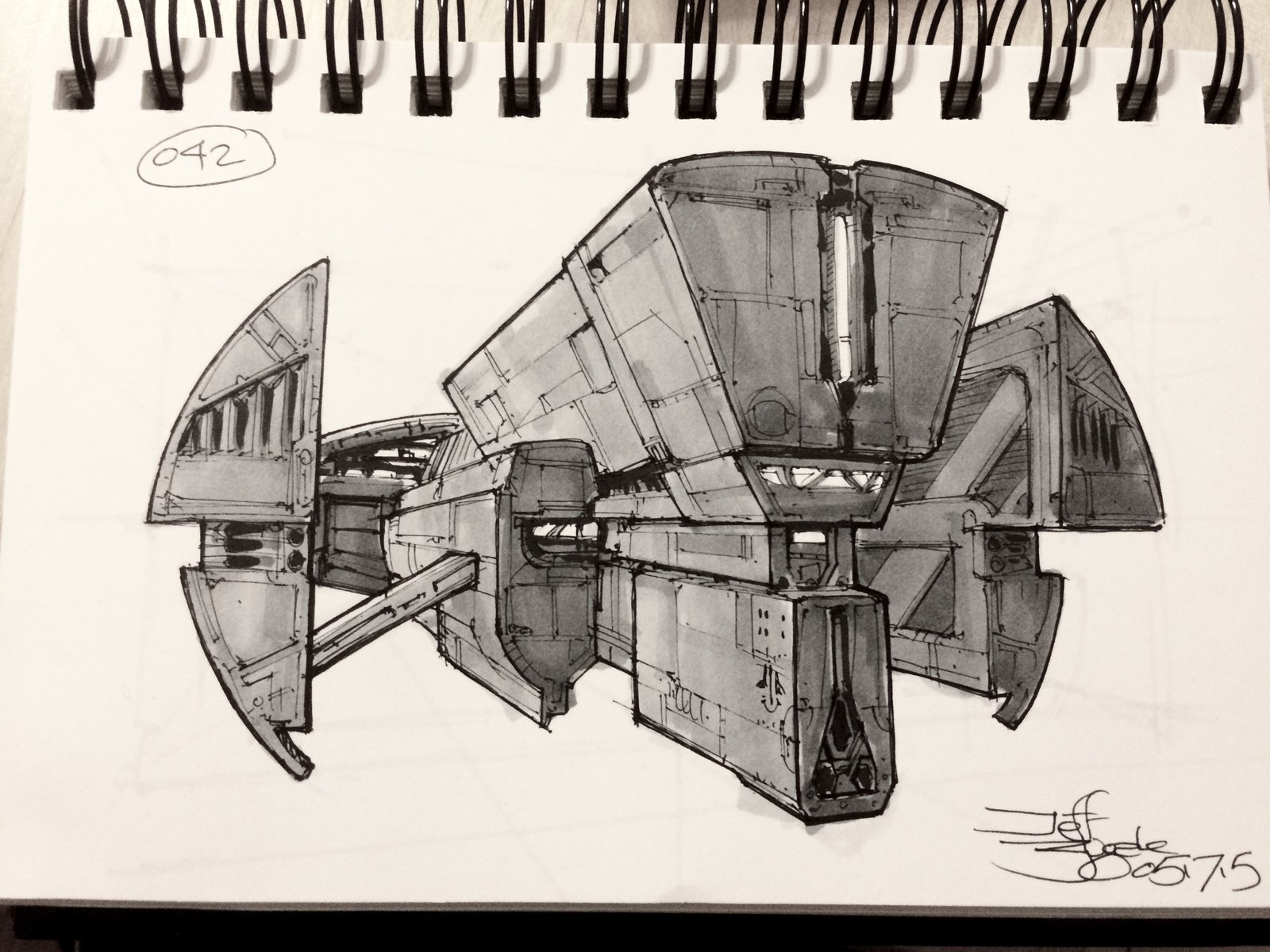 SpaceshipADay 042