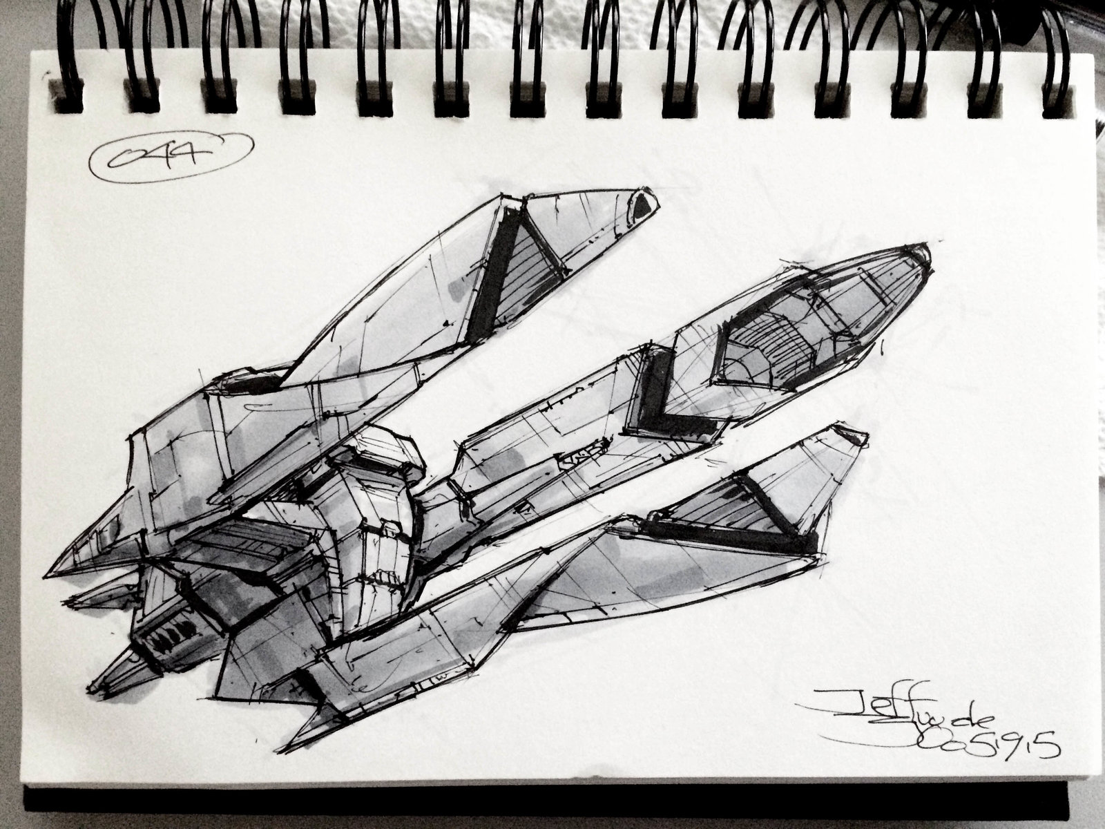 SpaceshipADay 044