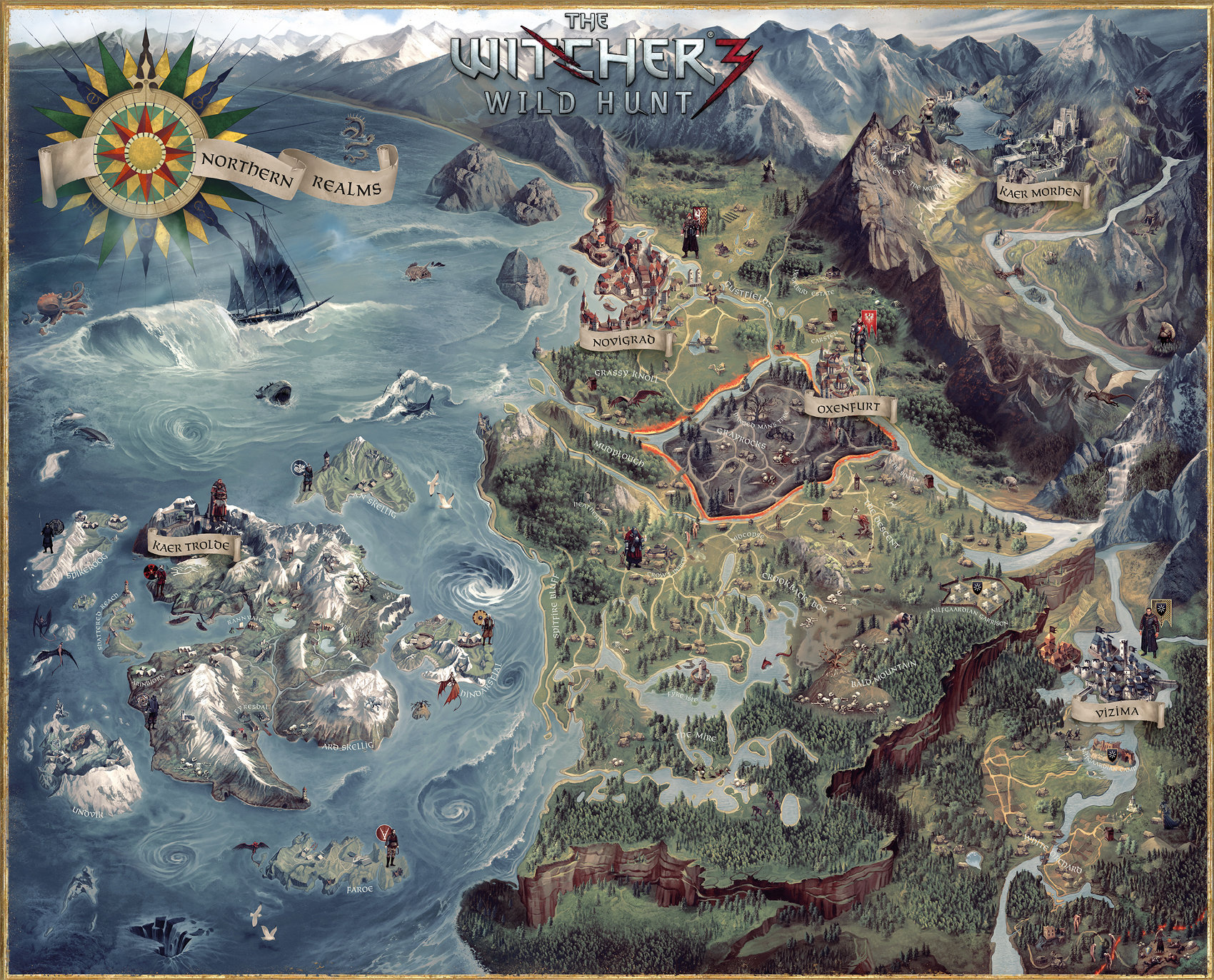 ArtStation - Witcher 3 CE Map, Damien Mammoliti on map china, map graphics, map drawings, map history, map clothing, map curtains, map food, map fabric, map cartoons, map books, map projects, map puzzle, map wallpaper, map postcards, map dishes, map services, map accessories, map design, map home decor, map social work,