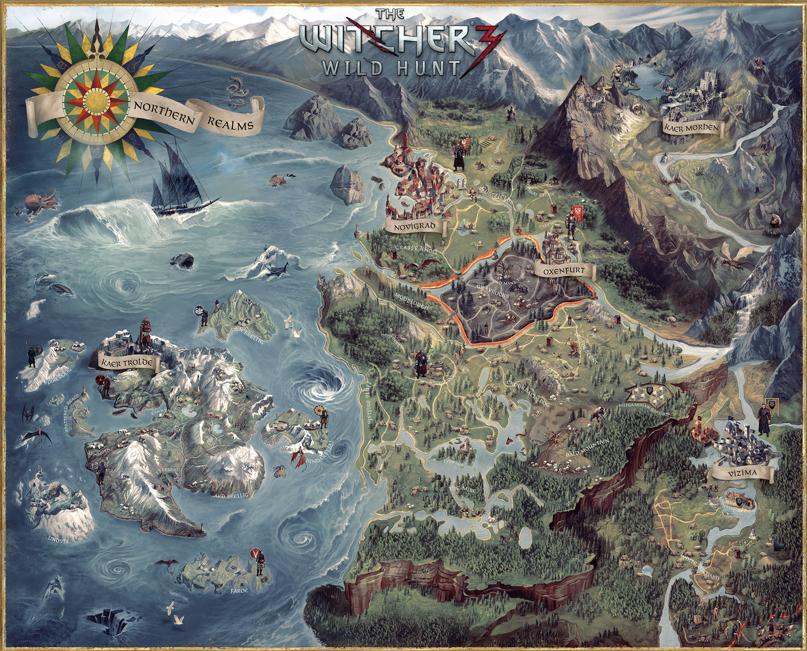 Witcher 3 CE Map