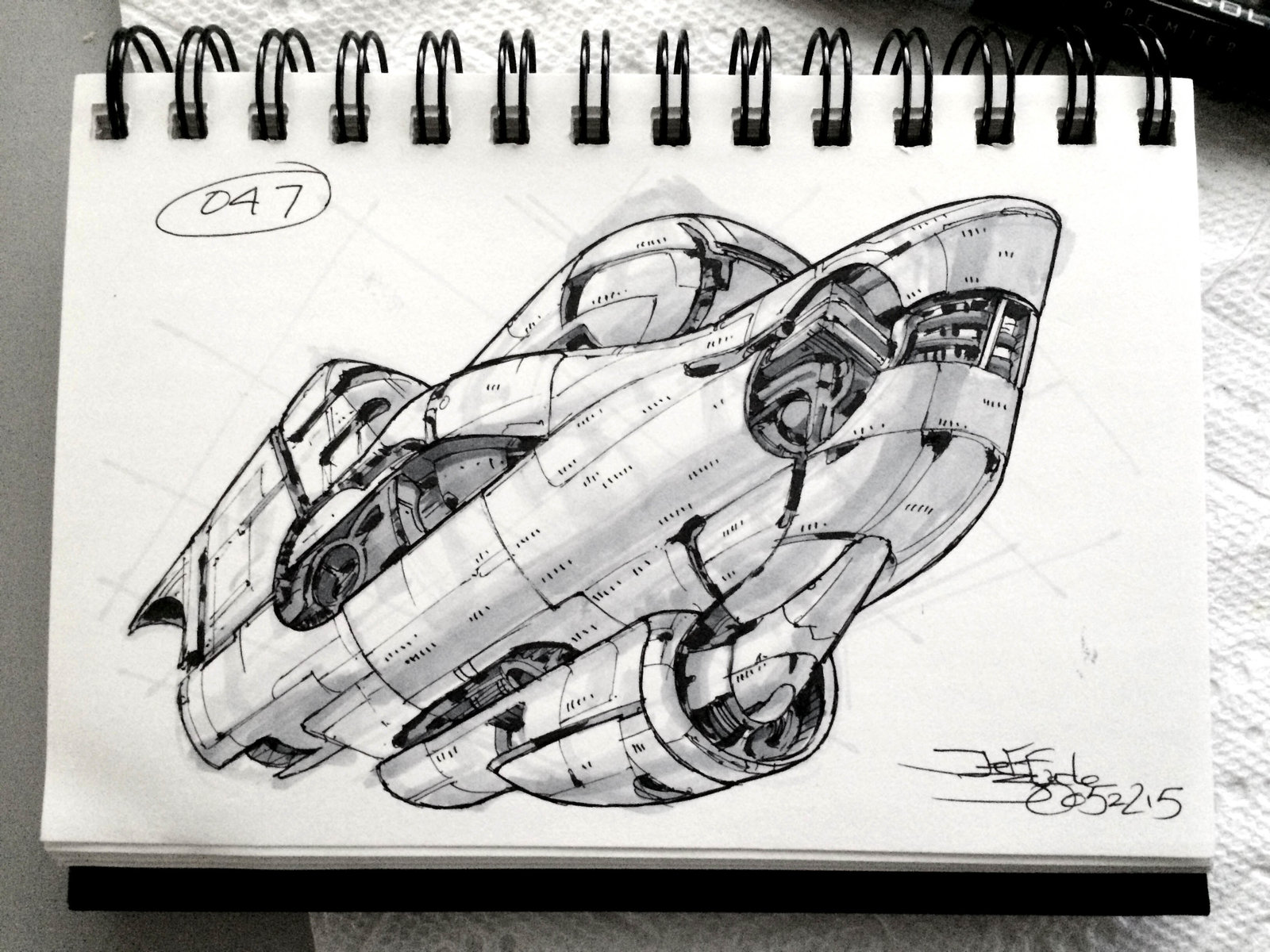 SpaceshipADay 047