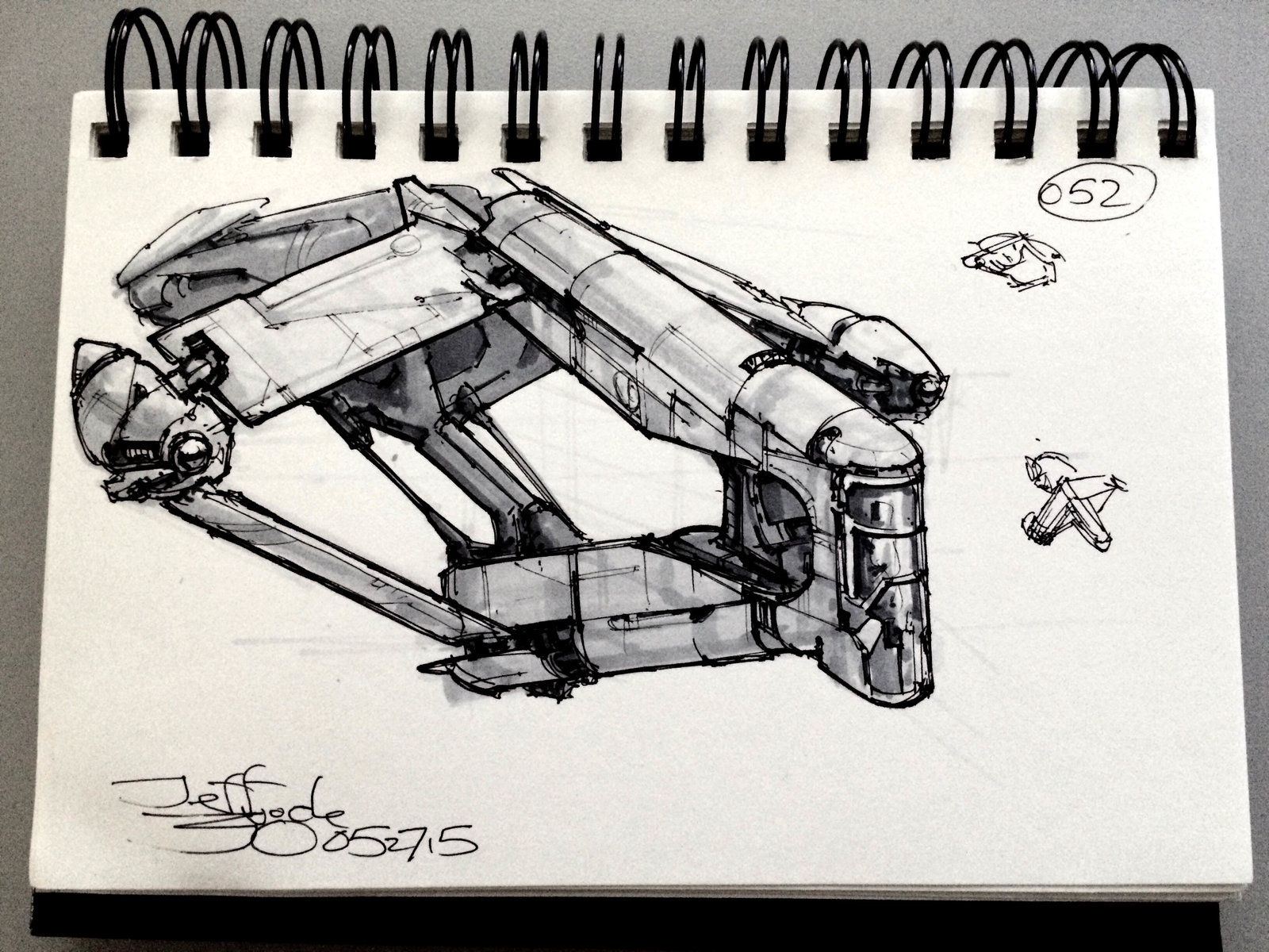SpaceshipADay 052