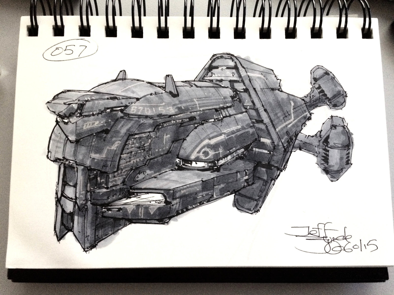 SpaceshipADay 057