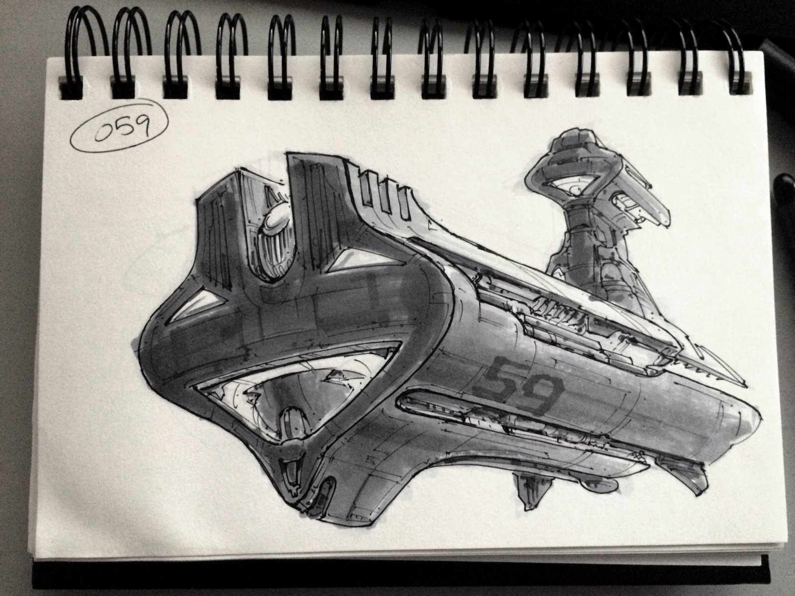 SpaceshipADay 059