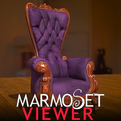 Raul aparicio marmoset viewer vertical chair