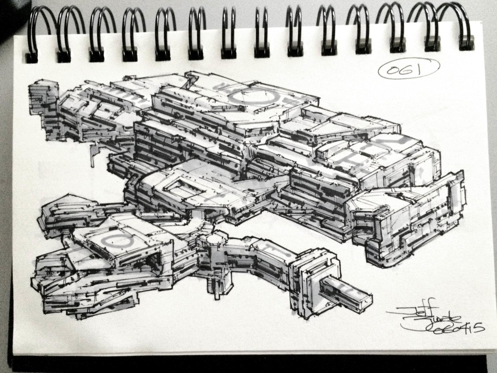 SpaceshipADay 061