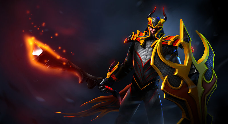 Dragon Knight Blackfyre set for Dota 2