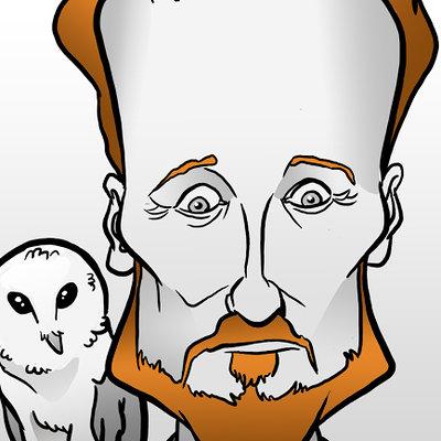 Steve rampton conan caricature
