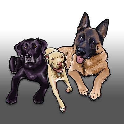 Steve rampton 3dogs