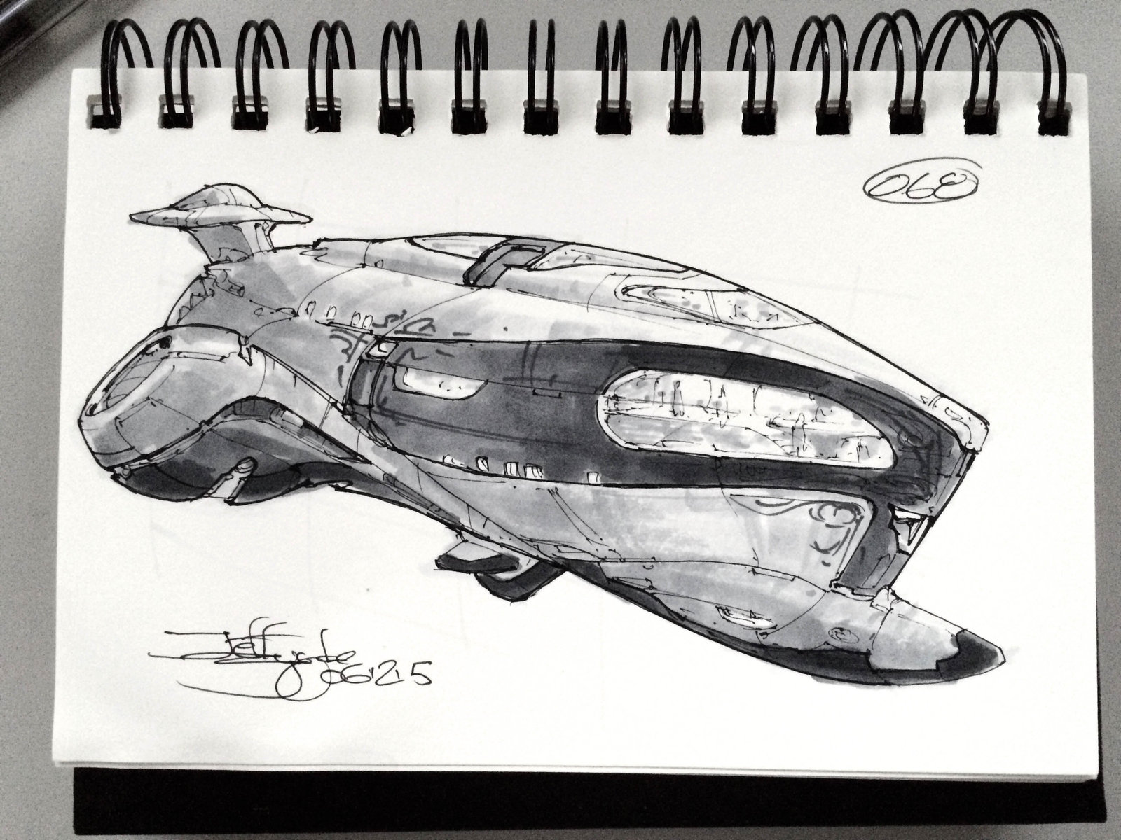SpaceshipADay 068