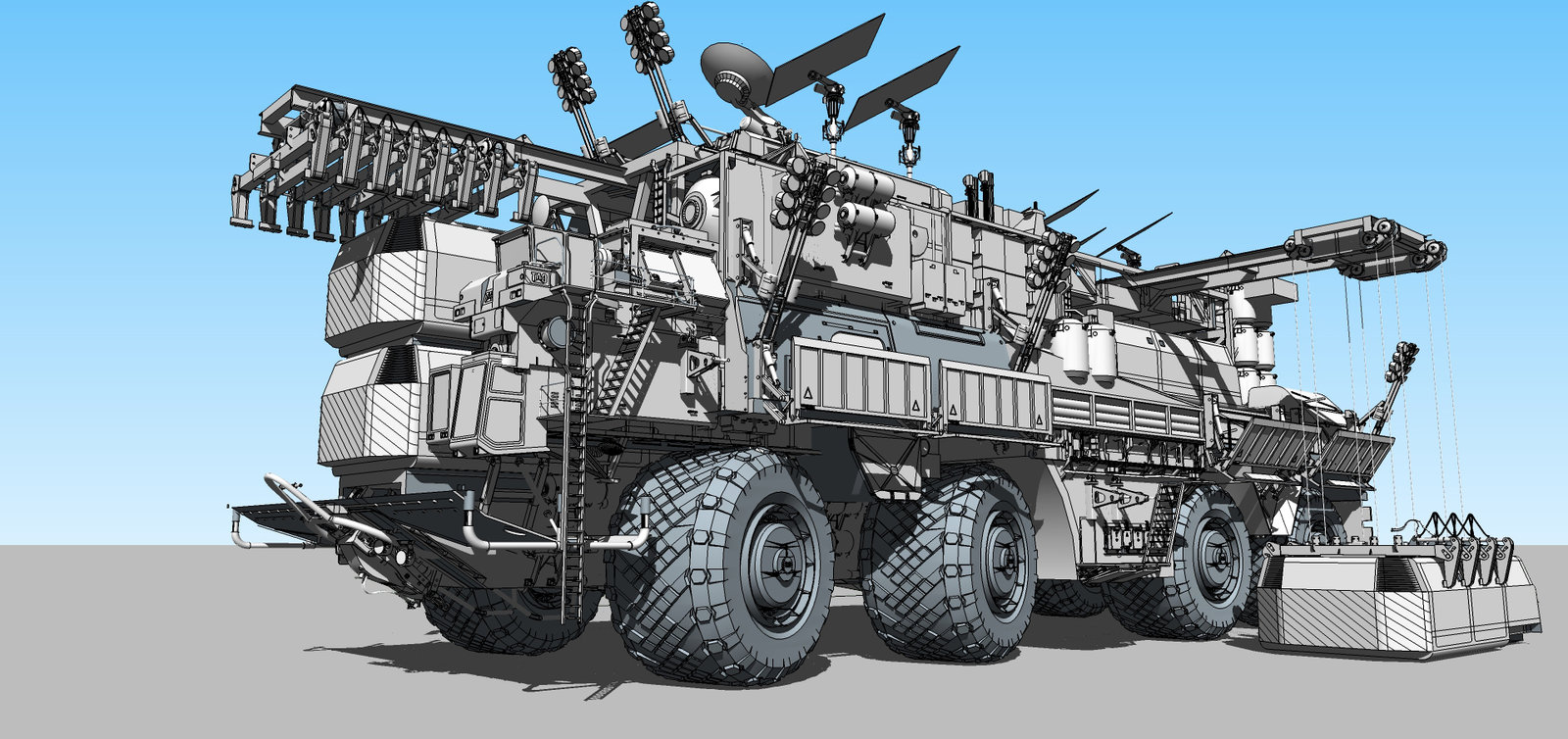 Convoy Crawler
