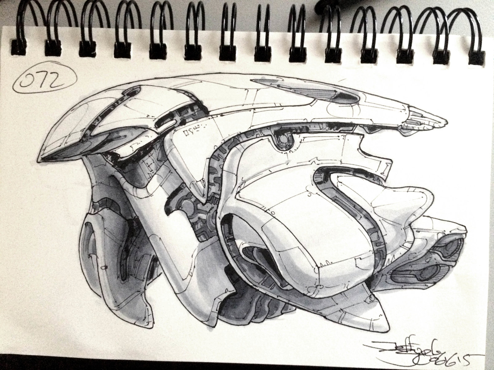 SpaceshipADay 072