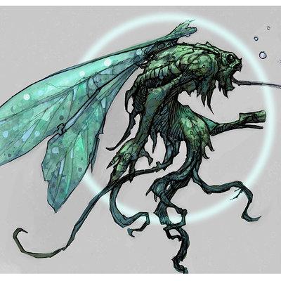 Mike mccarthy creature sketch