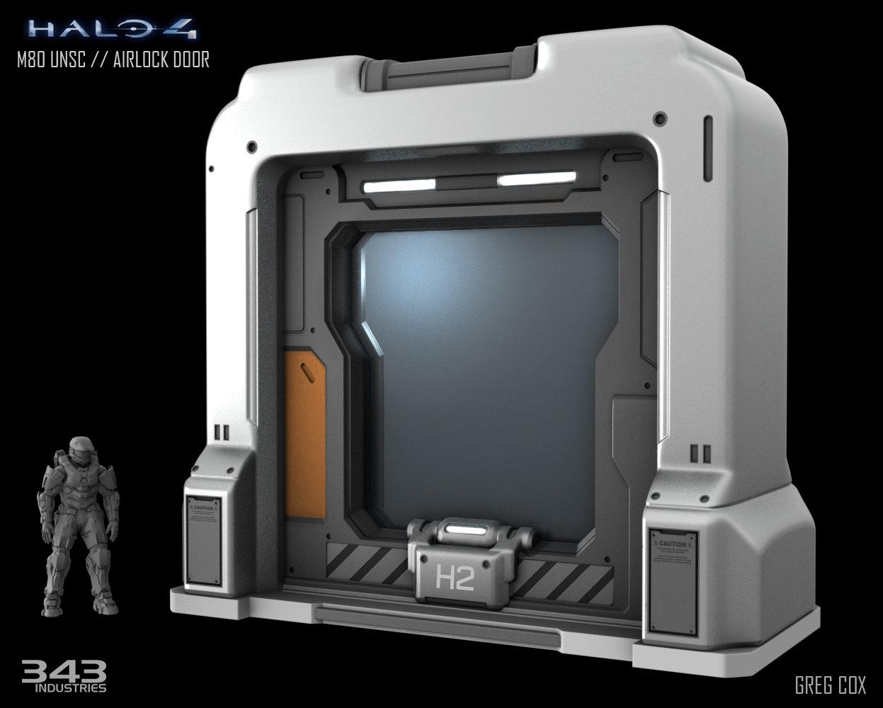 Halo 4 // UNSC Airlock  sc 1 st  ArtStation & ArtStation - Halo 4 // UNSC Airlock Greg Cox pezcame.com