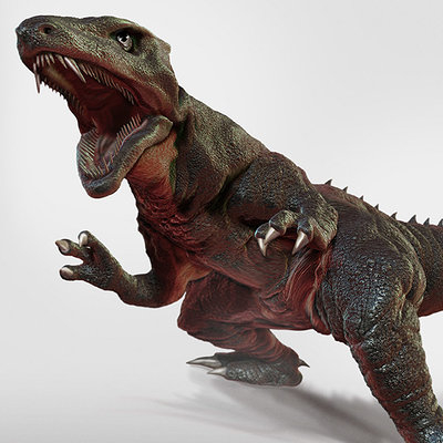 Dope pope zgorosaurus new render by dopepope