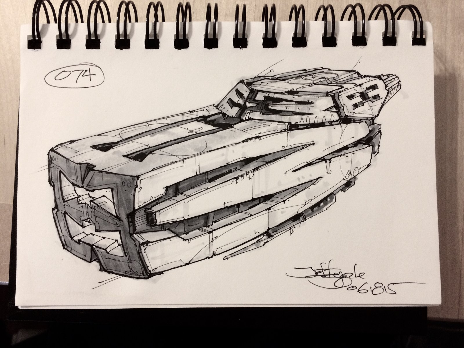 SpaceshipADay 074
