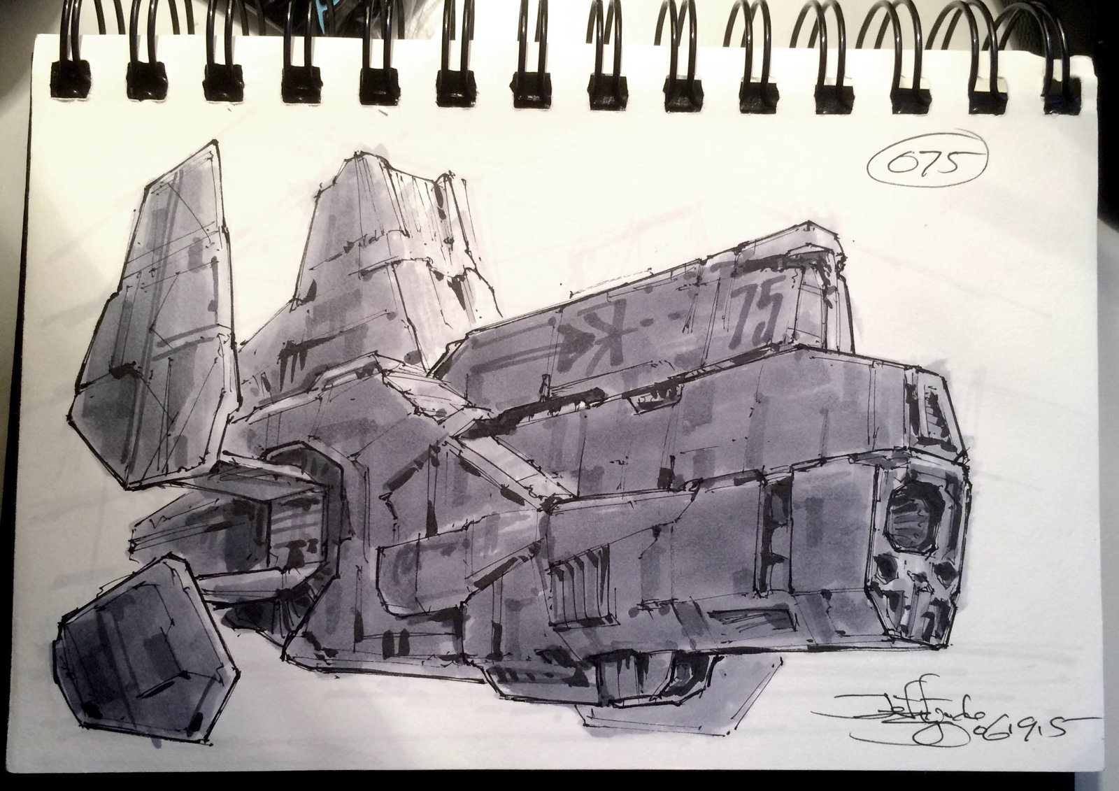 SpaceshipADay 075