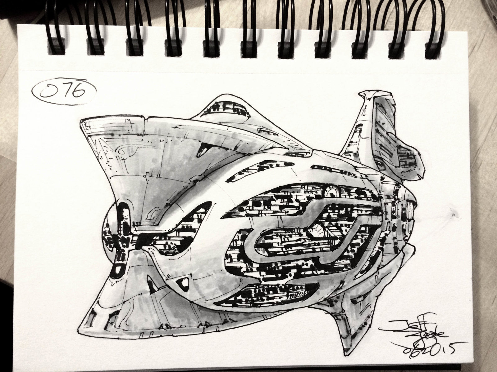 SpaceshipADay 076