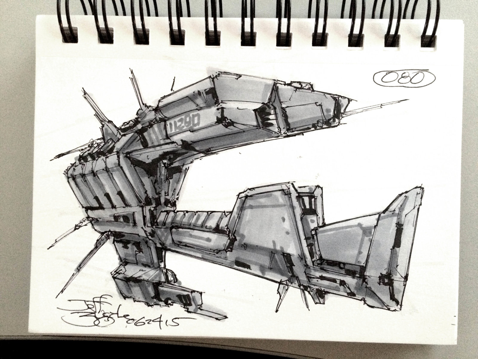 SpaceshipADay 080