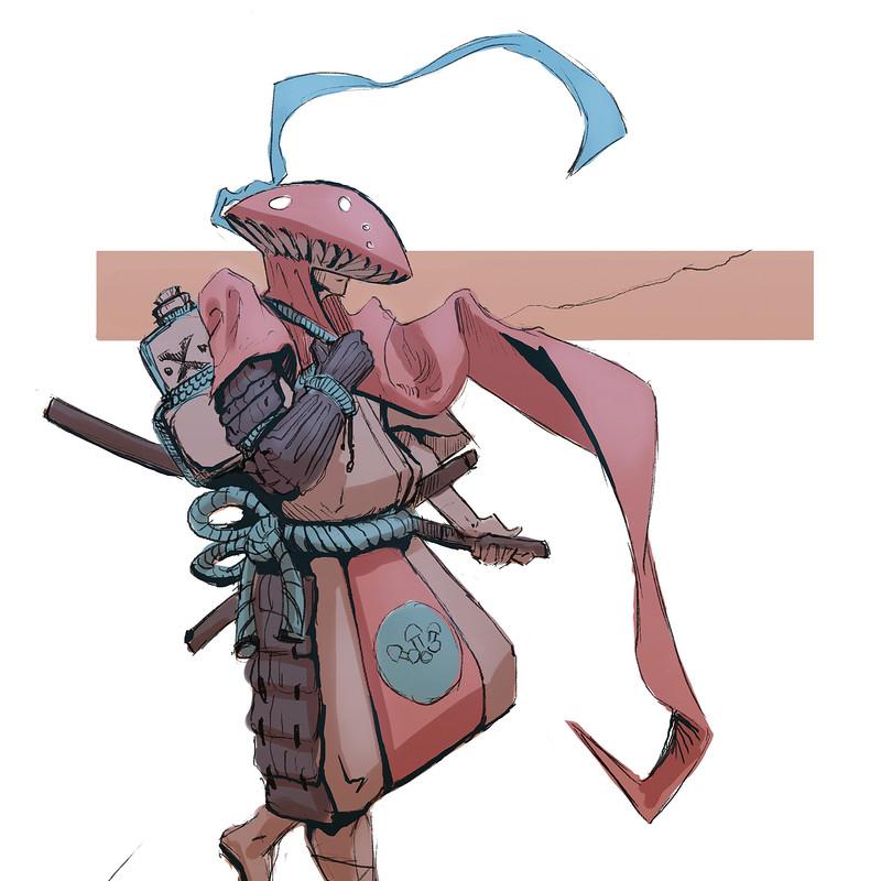 Supreme Mushroom Samurai