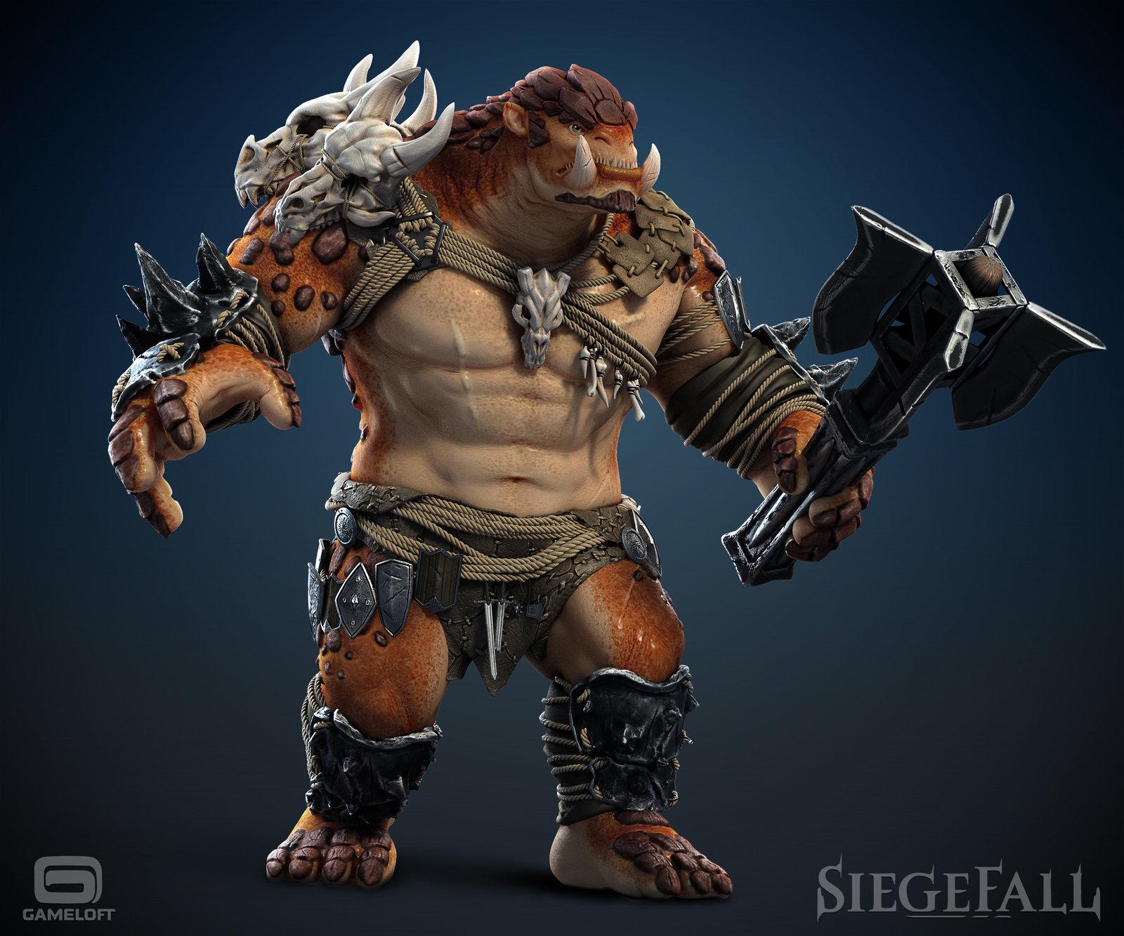 Siegefall - troll