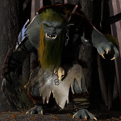Tomislav veg forest troll 2