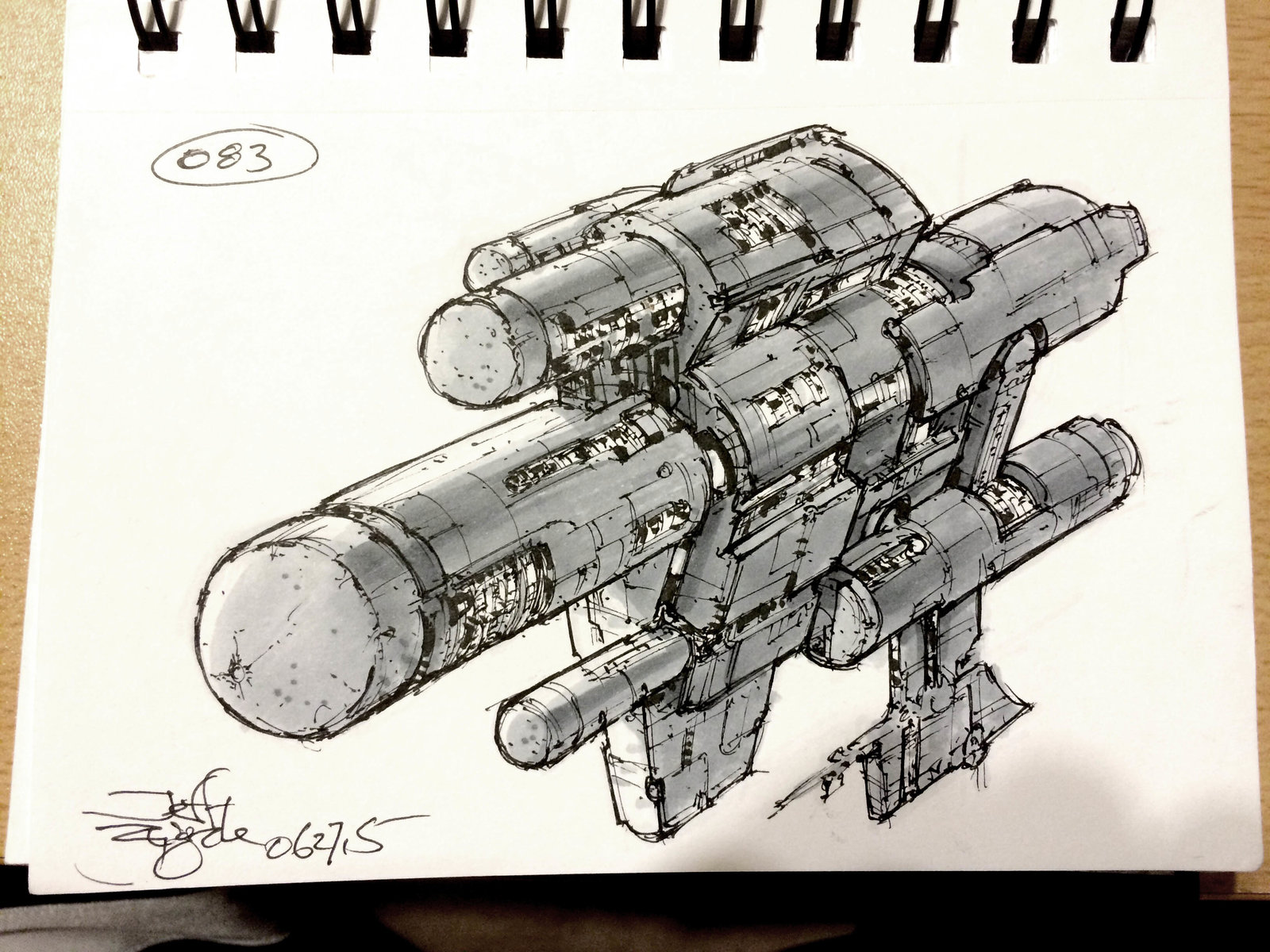 SpaceshipADay 083
