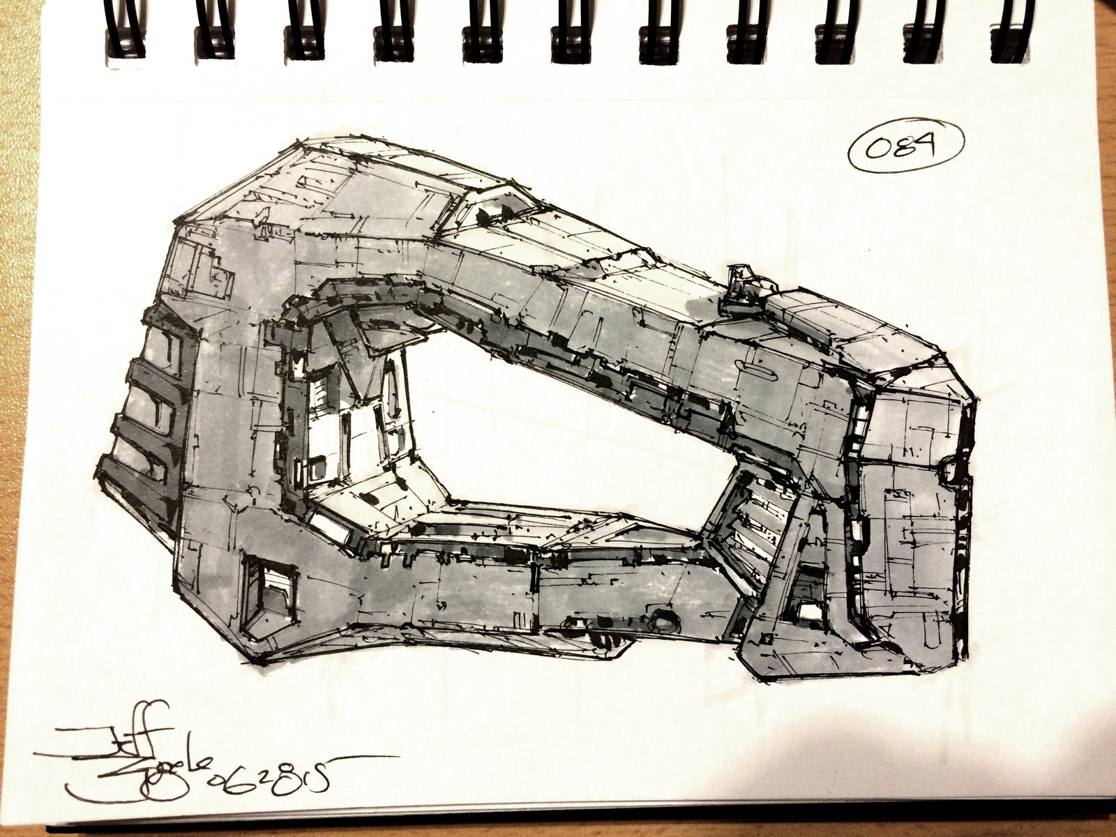 SpaceshipADay 084