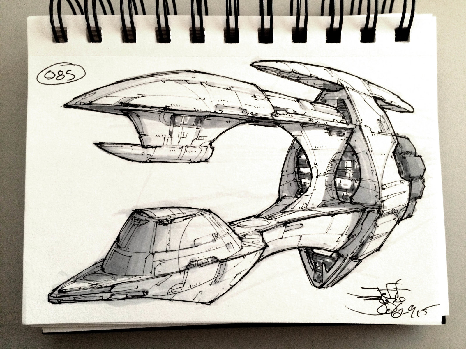SpaceshipADay 085