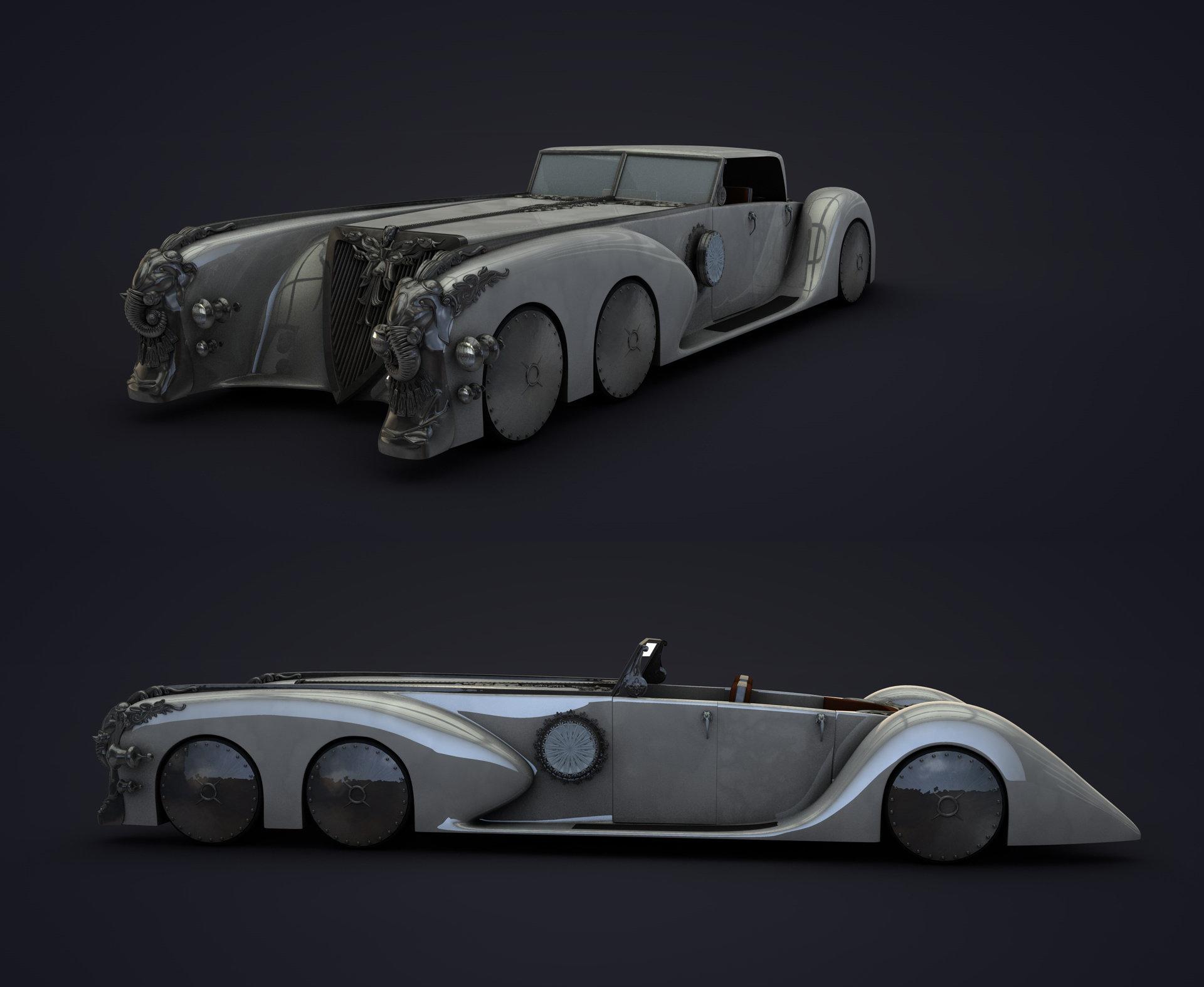 The Car Company >> ArtStation - Nautilus Car, sameh tarek