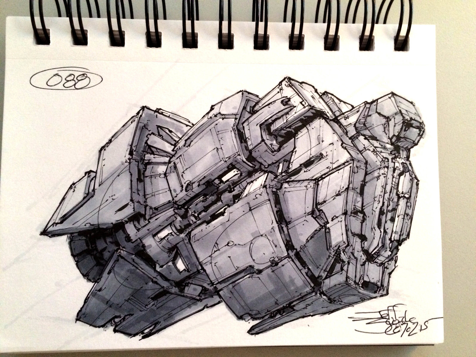 SpaceshipADay 088