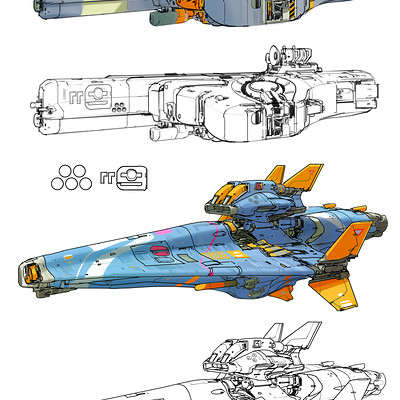 Sparth 2 blue space vehicles final reduced small