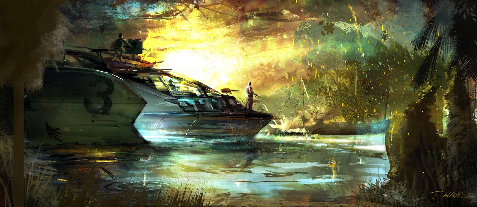 SEAL TEAM GunBoat
