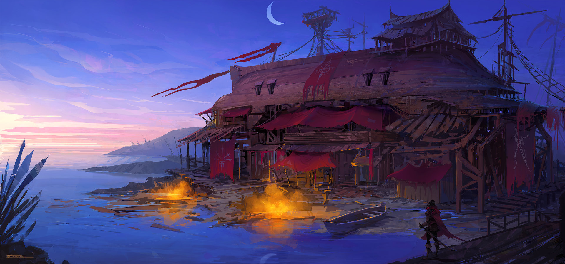 Pirate Cove Concept
