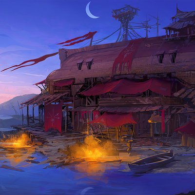Muyoung kim pirate cove mood concept