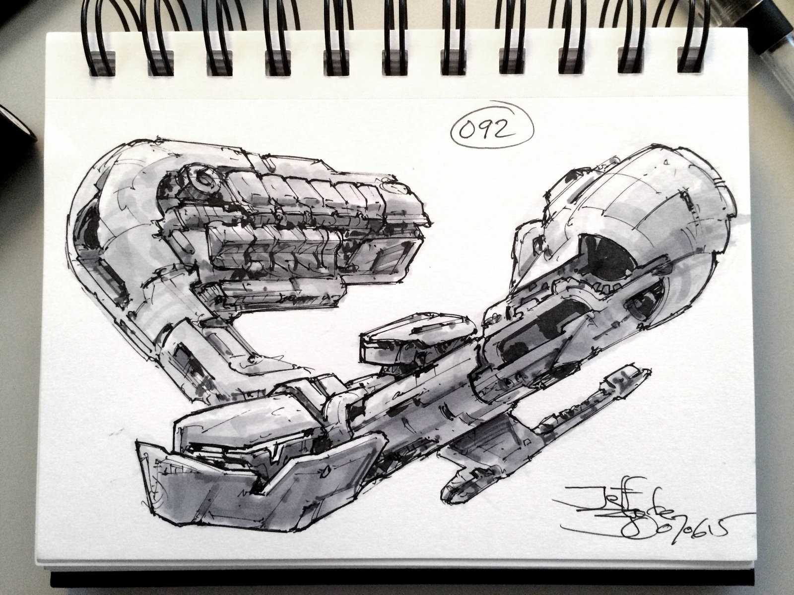 SpaceshipADay 092