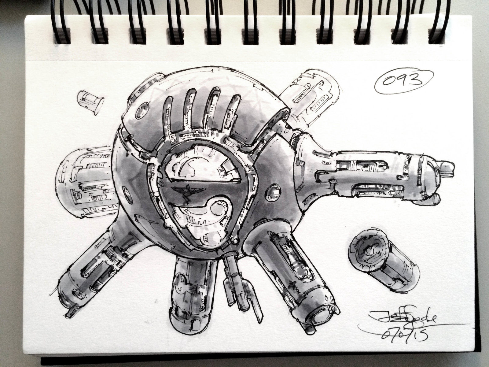 SpaceshipADay 093
