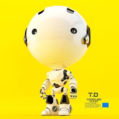 Vladislav ociacia toddler robot 2