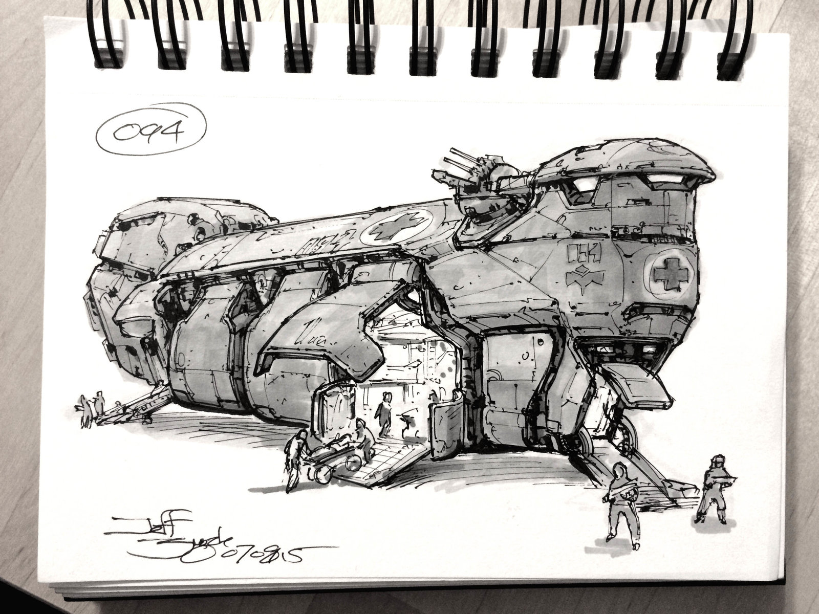 SpaceshipADay 094